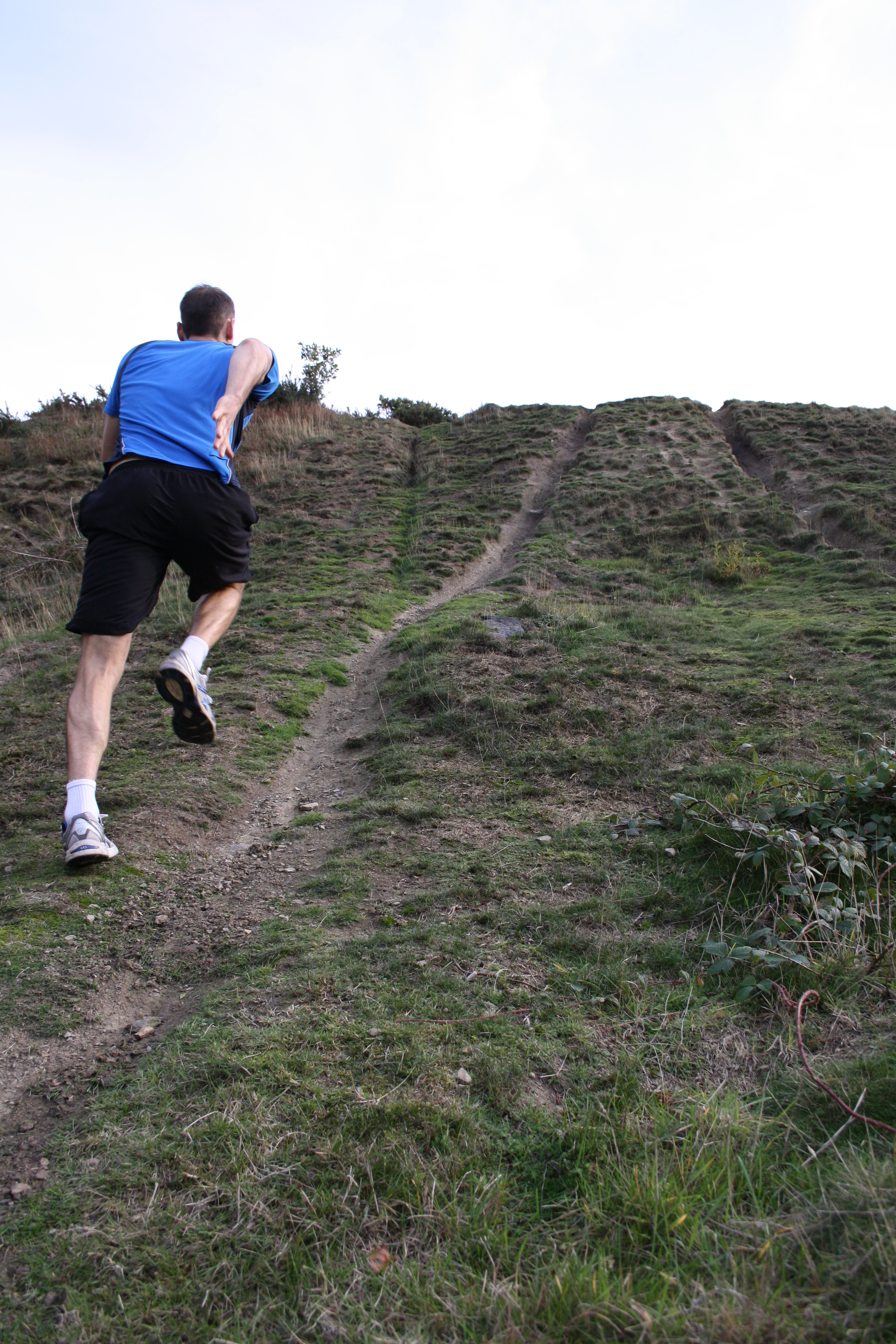 Hill climbing in West Yorkshire