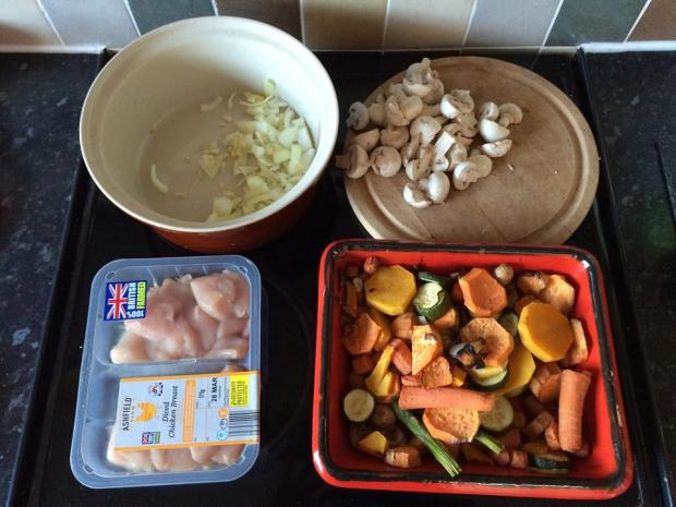 Chicken and Vegeables